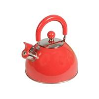 Gold Dekor Çelik Su Isıtıcısı 2,5 Lt.Kırmızı