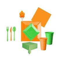Yeşil Turuncu Parti Seti