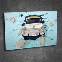 Artmoda - Kabartmalı Araba Tablo