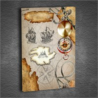 Artmoda - Kabartmalı Harita Tablo