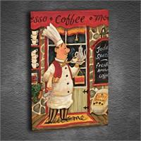 Artmoda - Kabartmalı Aşçı Tablo