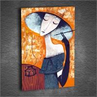 Artmoda - Kabartmalı Playing Woman Tablo