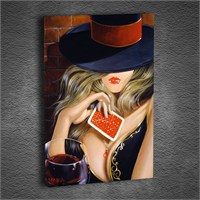 Artmoda - Kabartmalı Woman Tablo