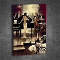 Artmoda - Kabartmalı Jazz Tablo