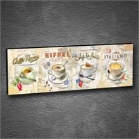 Artmoda - Kabartmalı Caffe Tablo