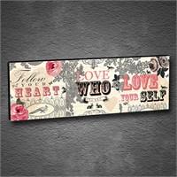 Artmoda - Kabartmalı Love Tablo