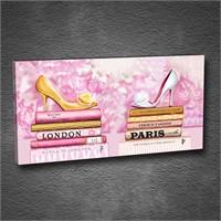 Artmoda - Kabartmalı Londra, Paris Tablo