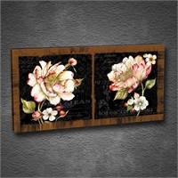 Artmoda - Kabartmalı Çiçek Tablo