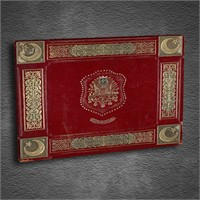 Artmoda - Kabartmalı Osmanlı Devlet Arması Tablo