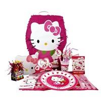 Partişöleni Hello Kitty Doğum Günü Seti 24 Kişilik Superset