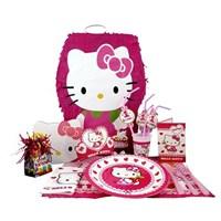 Partişöleni Hello Kitty Doğum Günü Seti 16 Kişilik