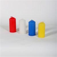 32-7 4 Farklı Renkli Bar Tipi Mum