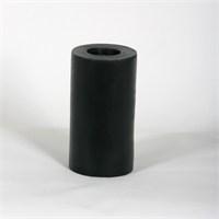Siyah 8*15 Cm Kokusuz Silindir Mum