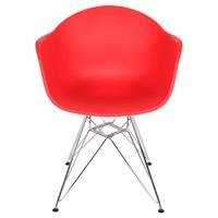 Altıncı Cadde Star Kırmızı Sandalye