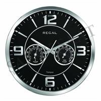 Regal 0913-Sbz Isı Ve Nem Ölçer Duvar Saati