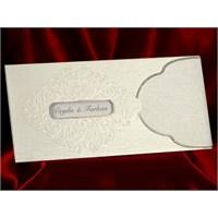Pencereli Düğün Davetiye 100 Adet Zarfsız