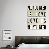 Tictac 2 Parça Kanvas Tablo - All You Need 1