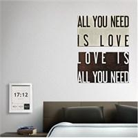Tictac 2 Parça Kanvas Tablo - All You Need 2