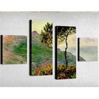 Tictac 4 Parça Kanvas Tablo - Monet Doğa