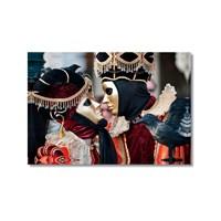 Tictac Venedik Mask 2 Kanvas Tablo - 40X60 Cm