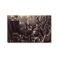 Tictac New York 4 Kanvas Tablo - 60X90 Cm