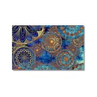 Tictac Simetri Kanvas Tablo - 50X75 Cm