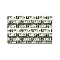 Tictac Dollar Kanvas Tablo - 50X75 Cm
