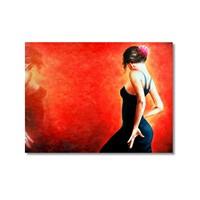 Tictac Tango Kanvas Tablo - 50X75 Cm