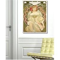Tictac Vintage 7 Kanvas Tablo - 40X60 Cm