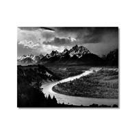 Tictac Sakin Nehir Kanvas Tablo - 40X60 Cm