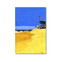 Tictac Issız Sahil 2 Kanvas Tablo - 40X60 Cm