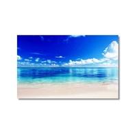 Tictac Issız Sahil 3 Kanvas Tablo - 50X75 Cm