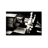Tictac Satranç Taşları 2 Kanvas Tablo - 40X60 Cm