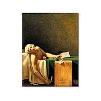 Tictac Marat Kanvas Tablo - 40X60 Cm