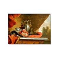 Tictac Antik Naturmort Kanvas Tablo - 60X90 Cm