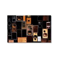 Tictac Speakers Kanvas Tablo - 50X75 Cm