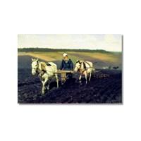 Tictac Leo Tolstoy Kanvas Tablo - 50X75 Cm
