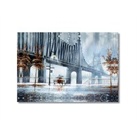 Tictac Brooklyn Kanvas Tablo - 40X60 Cm