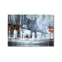 Tictac Brooklyn Kanvas Tablo - 60X90 Cm