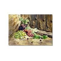 Tictac Üzümler Kanvas Tablo - 50X75 Cm