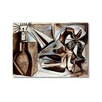Tictac Picasso 5 Kanvas Tablo - 60X90 Cm