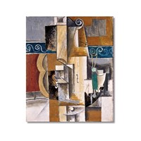 Tictac Picasso 10 Kanvas Tablo - 40X60 Cm
