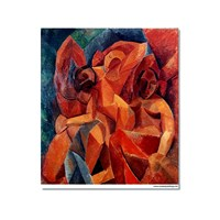 Tictac Picasso 11 Kanvas Tablo - 50X75 Cm