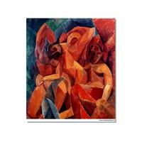 Tictac Picasso 11 Kanvas Tablo - 60X90 Cm