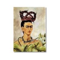 Tictac Frida 2 Kanvas Tablo - 60X90 Cm