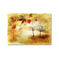Tictac Sonbahar Kanvas Tablo - 60X90 Cm