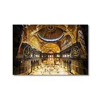 Tictac Aya Sofya 1 Kanvas Tablo - 50X75 Cm