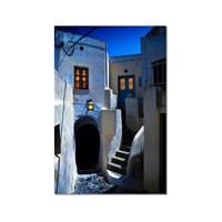 Tictac Dar Sokaklar Kanvas Tablo - 50X75 Cm
