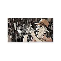 Tictac Jazz 2 Kanvas Tablo - 50X75 Cm