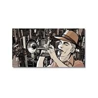 Tictac Jazz 2 Kanvas Tablo - 40X60 Cm